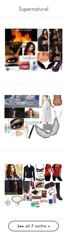 """Supernatural"" by chylove ❤ liked on Polyvore featuring 2 Lips Too, Jon Richard, Christian Dior, John Lewis, Cotton Candy, Victoria's Secret, Kitson, Miz Mooz, Wonderland and Lipsy"