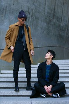 Korean Guys | Korean Fashion Week Pick jetzt neu! ->. . . . . der Blog für den Gentleman.viele interessante Beiträge - www.thegentlemanclub.de/blog http://www.99wtf.net/young-style/urban-style/mens-ideas-dress-casually-fashion-2016/