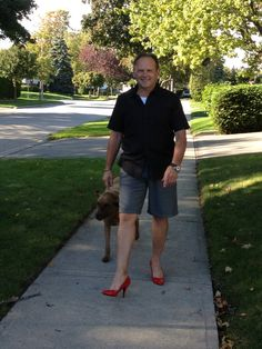 Help end violence against women, one high heeled step at a time! Walk A  Mile in Her Shoes - Sept. 27