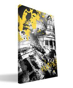 Love this Iowa Hawkeyes Spirit Canvas by Paulson Designs on #zulily! #zulilyfinds