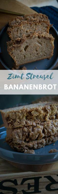 Super leckerer Zimtkuchen - Cinnamon Crumble Bananabread