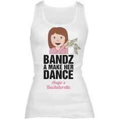 c709d79fd8 Funny Strip Club Bride Emoji tank tops you can customize for all the  bridesmaids and the