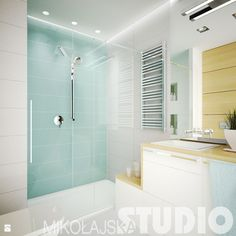 Świetlista łazienka - zdjęcie od MIKOŁAJSKAstudio - Łazienka - Styl Skandynawski - MIKOŁAJSKAstudio