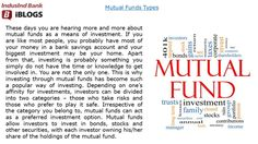 Get more ideas about #Mutualfundstypes , its benefits and how to invest in mutual funds wisely.