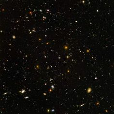 <b>Hubble Captures Galaxies Galore, 2004</b>; The amazing Hubble Space Telescope, through a deep core sampling technique, captured a view of nearly 10,000 galaxies.