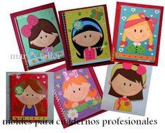 Resultado de imagen para figuras para adornar cuadernos
