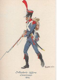 French; Light Infantry, Carabiner, 1812