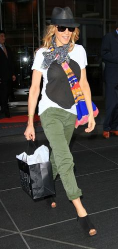 Sarah Jessica Parker with accessories