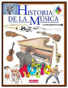 Historia de la música Musica Online, Blue Paint Colors, Music And Movement, Teaching Music, Music Education, Conte, Projects For Kids, Art For Kids, Musicals