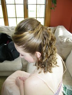 Prom Hair!  Thanks, Tammy!