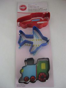 Transportation Cookie Cutters