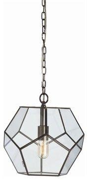 Tenley Pendant, Small - traditional - pendant lighting - Masins Furniture