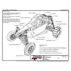 Projeto Kart Cross Megalodon - Gaiola, Buggy - Unico No Ml - R$ 15,99 no MercadoLivre