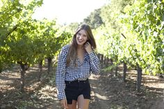 My Style: Adorable Model-Vintner Michele Ouellet Shows Off Her Napa Valley 'Hood