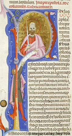 Bible, MS M.436 fol. 399v - Images from Medieval and Renaissance Manuscripts - The Morgan Library & Museum