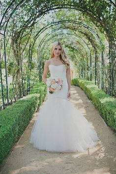 botanical bride  #bride #wedding #dress #weddingdress