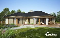 Alabama IV - Dobre Domy Flak & Abramowicz Alabama, Gazebo, Shed, Outdoor Structures, Mansions, Architecture, House Styles, Outdoor Decor, Home Decor