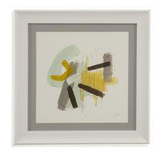 Thoroughly Modern 'Tonal Frequency II' Framed Painting Print