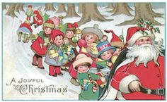 Vintage Christmas Card  A vintage Christmas greeting for you        Click on image to download