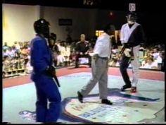 Larry Tankson vs Anthony Price at 1995 Bluegrass Nationals Karate Tourna...