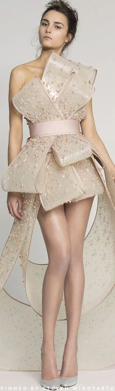 Rami Al Ali Spring Couture 2017 Fashion Show #spring2017 #womenswear #ss17 #ramialali