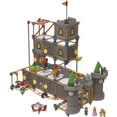 """K'Nex Super Mario Bowser's Castle Building Set - K'NEX - Toys """"R"""" Us"""