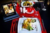 ~ Le Si Signature Restaurant @ Casa Toscana Lodge Pretoria ~ iPad Menus ~ Pretoria, Plastic Cutting Board, Restaurants, Ipad, Menu, Tuscan House, Menu Board Design, Restaurant, Menu Cards