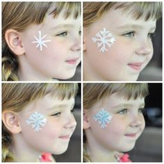Face Painting Snowflake