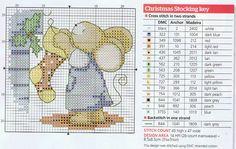 Mouse cross stitch chart
