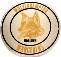 Wolves fc 1960s vinyl sticker