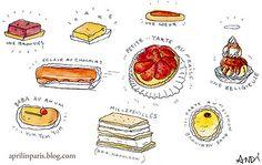 French Dessert Illustration Andrea Ipaktchi)