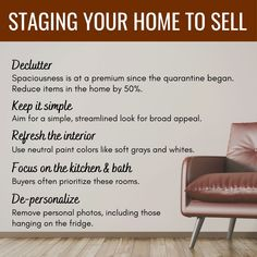 Staged homes often sell faster and for more money. If youre considering selling Id be happy to talk to you about options for staging your home.  . #diprimahomes #educationsaturday #sellingyourhome #sellingyourhometips #sellingprocess #homeselling #homesellers #homesellertips #realestateadvice #homestagingtips #homestagingsells #homestaging #homestagingideas #homestagingresource #realestate #realestatetips #homeseller #grammarpros