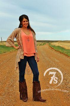 Tops – Savannah Sevens Western Chic