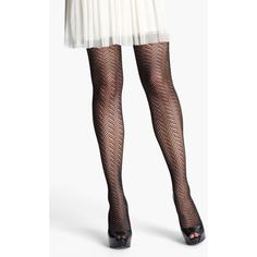 Nordstrom 'glitter' Tights ($18) ❤ liked on Polyvore