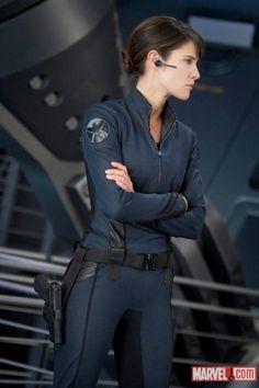 Maria Hill - Whedon Avengers-universe version