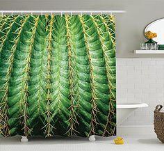 Cactus Decor Shower Curtain, Photo of Cactus with Spikes ... https://www.amazon.com/dp/B078LYM6N8/ref=cm_sw_r_pi_dp_U_x_cehSAbCT268JT