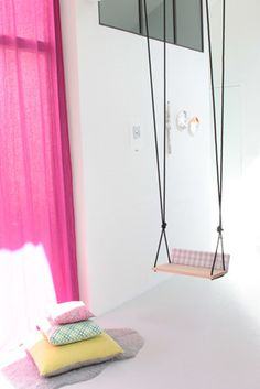 My dream studio should probably have a swing... :)
