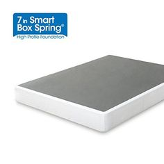 Enjoy the strong support and convenience of the new 7 inch Smart Box Spring by Zinus. The 7 inch height is perfect for all mattress profiles. The Smart Box Spring offers the look and functionality of a traditional box spring, but made from steel for longer-lasting durability. Compact packaging... more details available at https://furniture.bestselleroutlets.com/bedroom-furniture/mattresses-box-springs/box-springs/product-review-for-zinus-14-inch-free-standing-smart-box-spring