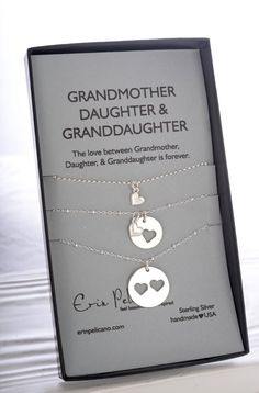 Grandmother Mother Daughter Jewelry. Grandma Gift. Grandmother of the bride gift. Birthday gift for Her. Family tree necklace. Please look at some intersting etsy shops energywire.etsy.com - wier jewellery. Elitalshop.etsy.com - fashion jewellery. Justbelievebybelinda.etsy.com Personaziled jewellery.