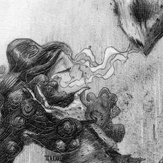 Dementor by moon , via Behance