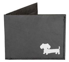 Black Dachshund Billfold Wallet - The Smoothe Store