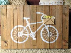 Mixed Media wood Art.....though it would be cute to paint on a real fence.