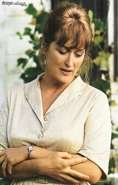 Meryl Streep, The Bridges of Madison County. Grace Gummer, Meryl Streep Movies, New Jersey, Actor Studio, Madison County, Diane Keaton, Iconic Movies, Romantic Movies, Clint Eastwood