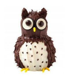 Decorating an owl cake? Why not! Read more about cake decorating in the April 14 At Home section.
