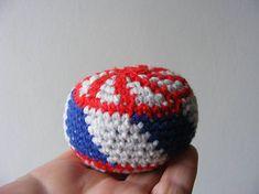 Hand crocheted Hacky Sack