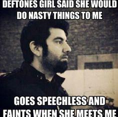 Deftones girls love Chino Moreno