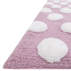 Brighten your little one's room with the youthful design in the Riley shag rug…