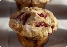 Driscoll's Strawberry Buttermilk Muffins