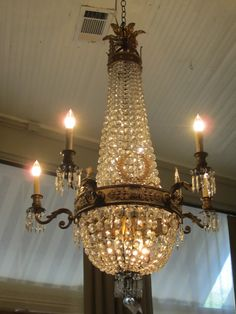 French empire chandy love...if only my ceiling was high enough or my family was shorter! Bqa