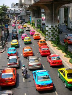 Colorful Taxi In Thailand | Flickr - Photo Sharing!